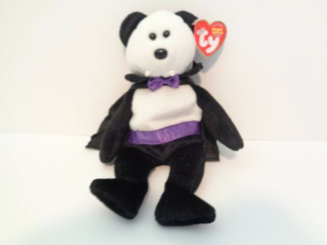 """TY  BEANIE BABIES /""""COUNT/"""" THE BEAR NEW /& MWMT"""