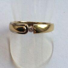 Ring mit Zirkonia  Gold 333 Gelbgold Gr. 60 - 19,1 mm