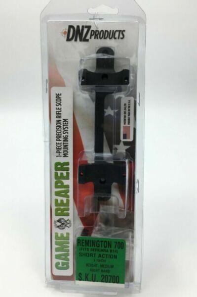 "Dednutz DNZ 50700 Game Reaper Low Black Remington 7400 7600 1/"" Scope Mount 5614"