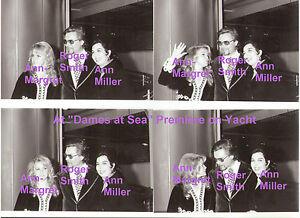 ANN-MARGRET-ROGER-SMITH-ANN-MILLER-DAMES-AT-SEA-1971-LOT-OF-4-PRESS-PHOTOS-8x10