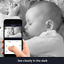 WiFi-Smart-Home-HD-Kamera-Nachsicht-Gegensprechen-Alexa-Google-TUYA-NEU Indexbild 5