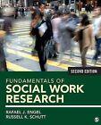 Fundamentals of Social Work Research by Rafael J. Engel, Russell K. Schutt (Paperback, 2014)