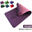 thumbnail 15 - TPE Yoga Mat Eco Friendly Exercise Fitness Gym Pilates Non Slip Dual Layer AU