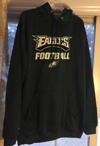 hot sales afbd3 1c930 Details about NWT Majestic Philadelphia Eagles Mens Big & Tall Hoodie NFL  Gear Size XLT