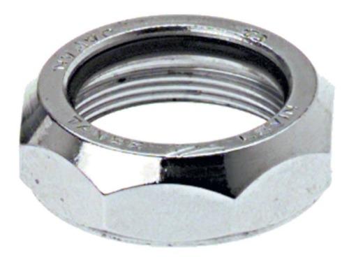 """Levin CDS 1/"""" Steel Top Nut Silver"""