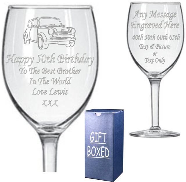18th 21st 30th 40th 50th 60th 65th or 70th   birthday wine glass charm gift.