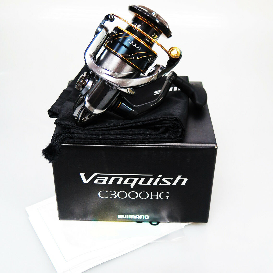 NEW SHIMANO VANQUISH C3000HG16 Spinning Reel SHIP TO US AUS 35 DAY EXPRESS