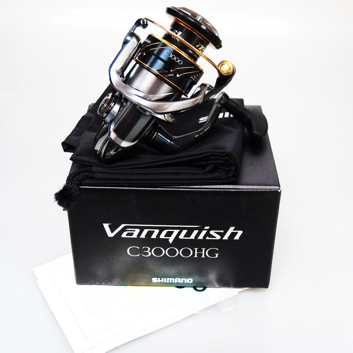 Nuevo Shimano Vanquish C3000HG-16 Spinning Carretes Envío a EE. UU. AUS 3-5 día Express