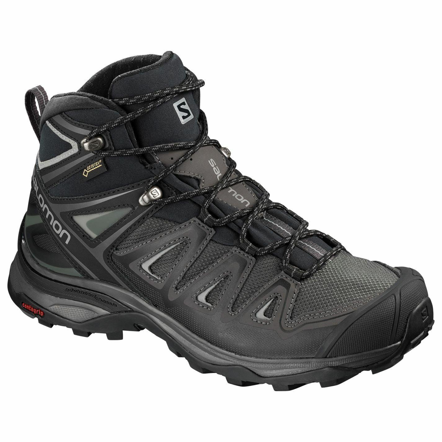 Salomon  X Ultra Medio Gtx Para mujeres Zapatos para Caminar 3 gris Negro botas Senderismo Trekking  nueva marca