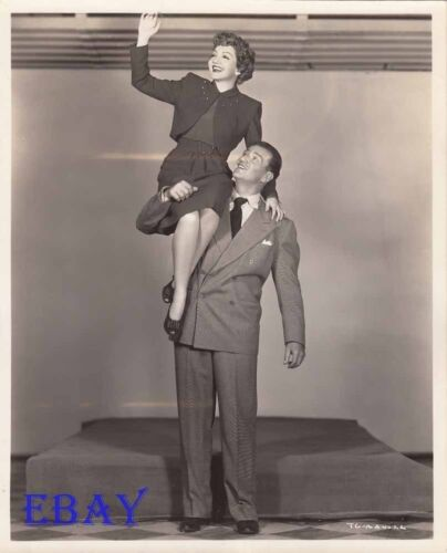 Claudette Colbert John Wayne VINTAGE Photo Without Reservations
