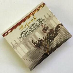 Mozart-Quintets-Quartets-etc-Philips-3-CD-Box-Set-amp-Booklet-with-Slip-Case