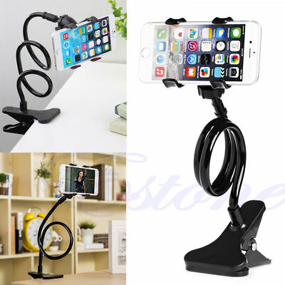360° Clip Universal Lazy Bed Desktop Stand Mount Car Holder For Phone Long Arm