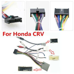 Car Stereo 20 PIN Android Power Wiring Harness Connector Adapter For Honda  CRV | eBayeBay