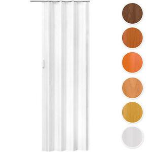 Kunststoff PVC Falttür Falttüre Schiebetür Nischentür 80 x 203 cm