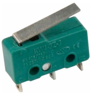 2 Positions: Touches: un//une amortie 250 V//5 A Microschalter 3 Pôle