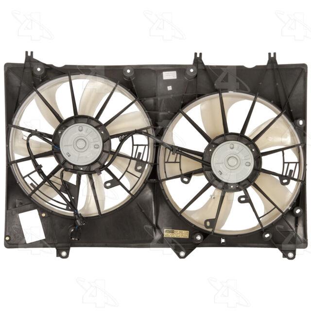 For 2008-2017 Toyota Sequoia Radiator Fan Assembly 21652DV 2011 2010 2009 2012