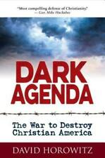 Dark Agenda by David Horowitz (2019, Hardcover)