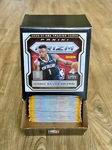 2020-21 Panini Prizm NBA Basketball Gravity Box FULL Original 36 Packs