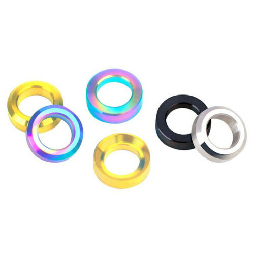 4Pcs Bike Bicycle M6 Concave and Convex Washer Spacer For Disc Brake Caliper F4