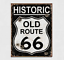 Old-Route-66-Weathered-Vintage-Metal-Tin-Sign-Wall-Decor-Garage-Man-Cave-Bar-Art thumbnail 4