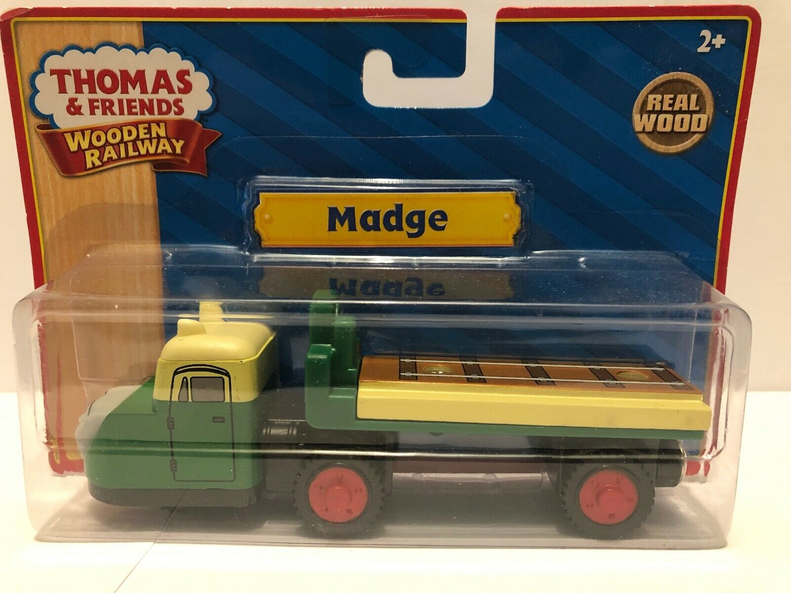 Thomas och vänner träen Madge den 3 -hjulade Lorry LC99056 NIB - 2010 Sällsynt