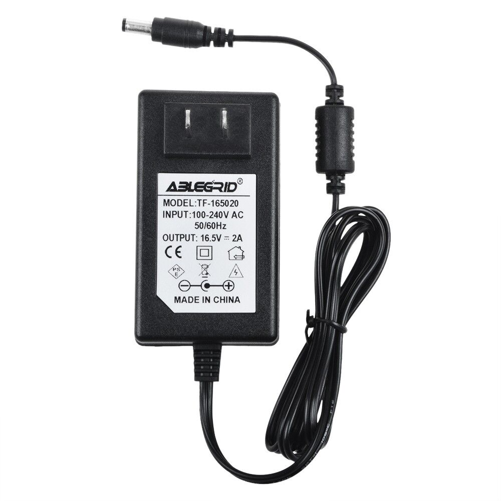 AC Adapter 16.5V 2A Power Charger for Google Home Hands-Free Personal Assistant