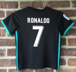 best loved dc824 a5d68 Details about Adidas F.C. Real Madrid Fly Emirates Cristiano Ronaldo Jersey  Youth Size 20