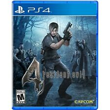 PLAYSTATION 4 PS4 GAME RESIDENT EVIL 4 HD BRAND NEW AND SEALED