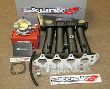 Skunk2 Black Ultra Series Intake Manifold + 70mm Throttle Body For B-Series VTEC