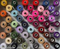 10/20 Spools Finest Quality Sewing Thread 100% Pure Polyester-All Purpose