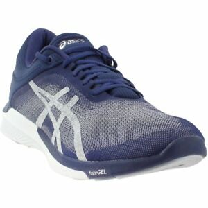 0513906ad7c7 Image is loading ASICS-FuzeX-Rush-Running-Shoes-Blue-Mens
