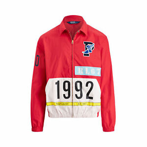 Ds New Polo Ralph Lauren 1992 Stadium Windbreaker Shell