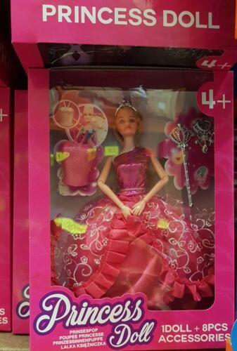 La PRINCIPESSA doll 1 Bambola Accessori 8pcs