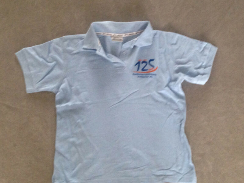 Vereinigt Blaues Blau Hellblau Polohemd Poloshirt Shirt Top Von Slazenger Gr. S 36 Hohe Sicherheit