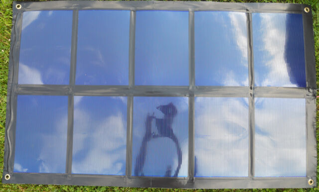 Portable Foldable 60W Solar Panel Remote Power 60 Watt weighs 5lbs  Flexible NEW