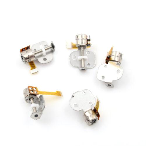 5pcs DC 5v 2-phase 4-wire Stepper Micro mini Motor linear screw slider block s!