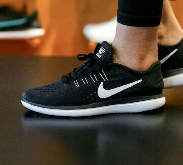 Wmns Nike Flex 2017 RN Run Black White