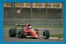 F1 Racing Postcard ~ Ferrari 641 - 1990 Season: Alain Prost - Niccolini of Italy