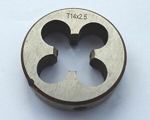 New 1pc TR14*3mm Pitch T14*3 mm HSS Trapezoidal Metric Right Hand Die