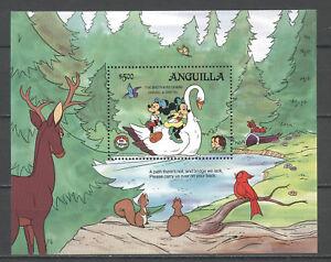 Walt-Disney-Weihnachten-Grimm-Anguilla-Bl-65-MNH-1985