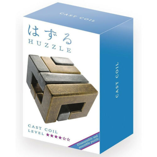 Huzzle Cast Puzzle Coil Level 4