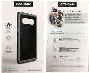 best service e905e 72a9b Details about New Original PELICAN Protector Black / Light Gray Case for  Samsung Galaxy Note 8