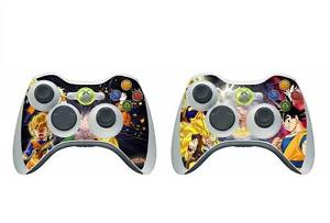 Faceplates, Decals & Stickers Dragon Ball 015 Vinyl Decal Skin Sticker For Xbox360 Slim And 2 Controller Skins Video Game Accessories