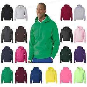 JERZEES-Mens-NuBlend-Hooded-Sweatshirt-Fleece-Pullover-S-5XL-Hoodie-996MR-PI