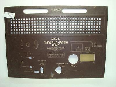 VINTAGE VÁLVULA RADIO MINERVA 515U 1951