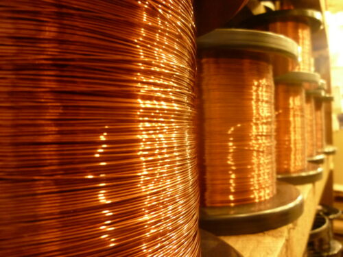 1 metros de longitud 0.75mm Cobre Esmaltado Imán Cable