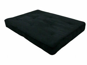 Dorel Home Products 8 Independently Encased Coil Futon Mattress With Certipur Us Certified Foam Black