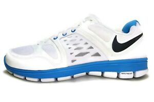 new style c7933 3bd74 Details about NIKE WOMEN'S, NIKE FREE XT MOTION FIT Runnig Shoes White/Blue  9.5