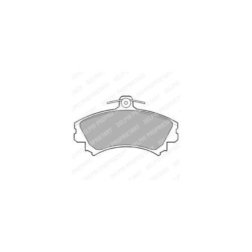 DELPHI Bremsbelagsatz Scheibenbremse   für Mitsubishi Space Star Colt VI