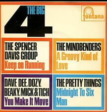 7inch SPENCER DAVIS GROUP pretty things MINDBENDERS the big 4 60's EP RARE